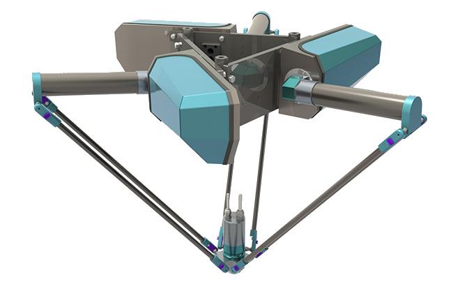 Abiflexx Delta Robot Specifications